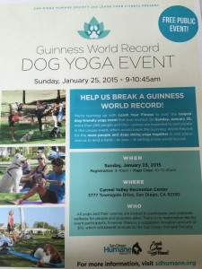 Doga Yoga World Record
